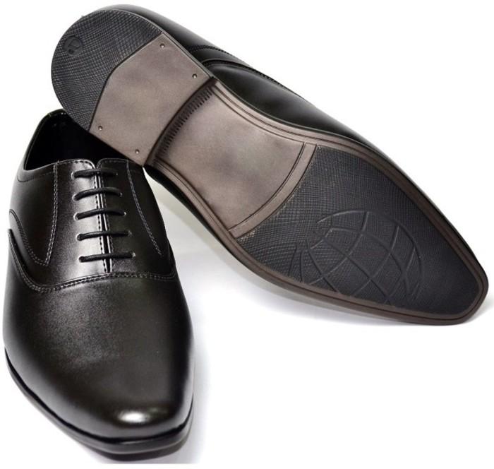 Senso Vegetarian Mens Black Lace Up Shoes