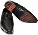 Senso Vegetarian Mens Black Formals Lace Up Shoes