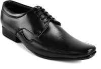 Ferraiolo Office Wear Lace Up Black