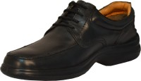 TSF 524 BLACK LEATHER SHOE FOR MEN