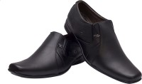 Elixir Man K Black Slip On Shoes