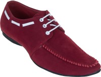 Zovi Red With Lacing Casual Shoes