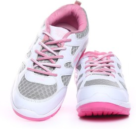 Apoxy APX-STAR-WHITE-PINK Running Shoes