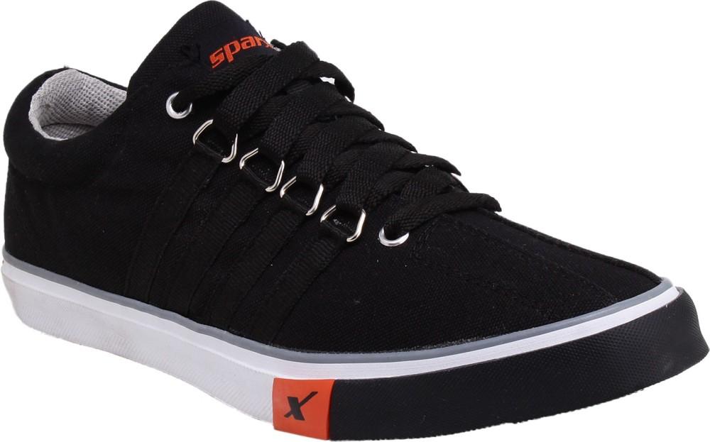 Sparx Sporty Canvas Shoes Black