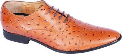 Pinellii Alphard Lace up Tan (Italian Hand Crafted) Lace Up shoes