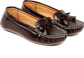 TEN Tan Synthetic Leather Loafer Loafers