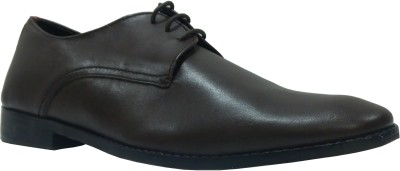 Sleek Sleek Office Lace Up Shoes (Brown)