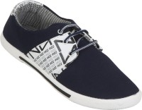Zovi Navy With Branding Casual Shoes Blue