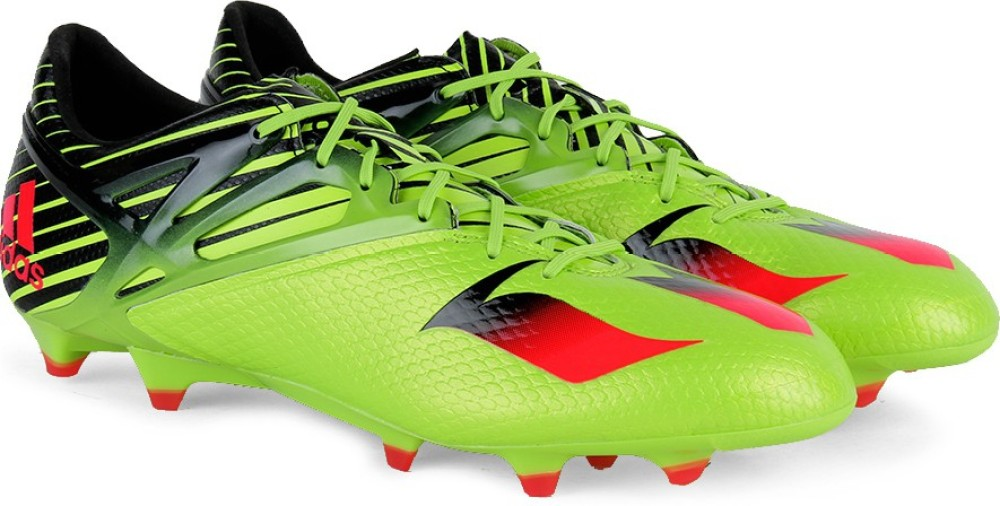 Adidas MESSI 151 Men Football Shoes Black Green Red
