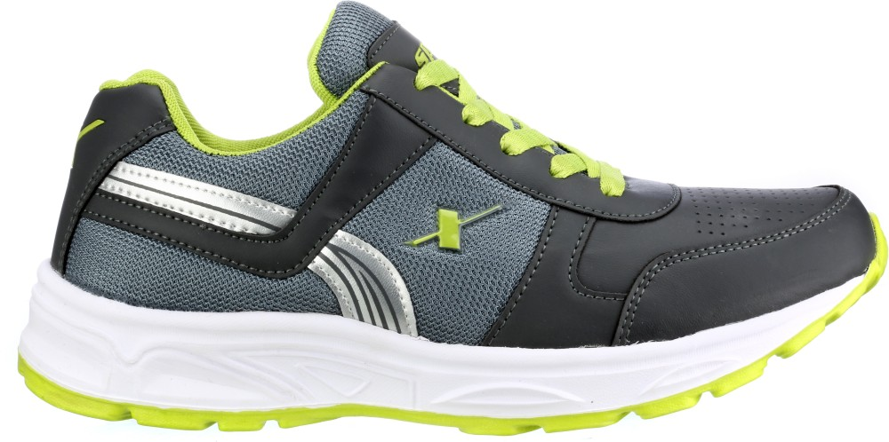 Sparx Running Shoes Grey Green...