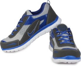 Leo-Max Grey Running Shoes
