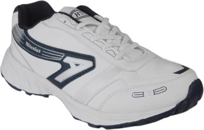 Hitcolus White & Blue Running Shoes