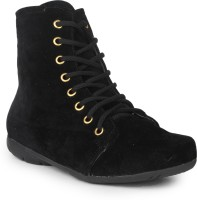 Do Bhai Swed-Boot-Black Boots