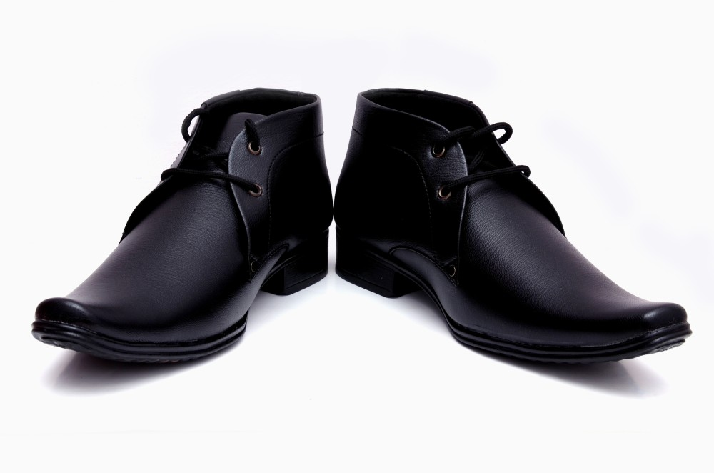 Barretoes Black Original Lace Up Shoes