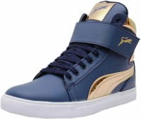 Black Tiger Black Tiger Men's Synthetic Leather Casual Shoes 8000-G-Blue-6 Casuals