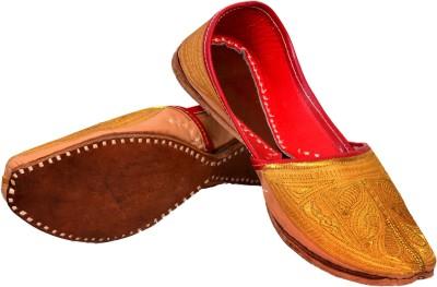Skill India Men,S Leather punjabi juti 7001 Mojaris