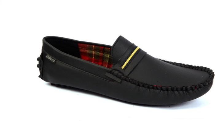 DaMochi Men Loafers - Buy Black Color DaMochi Men Loafers Online At Best Price - Shop Online For ...