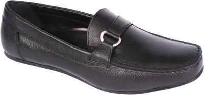 Pinellii Berlington Slip on Black (Italian Hand Crafted) Slip On Shoes