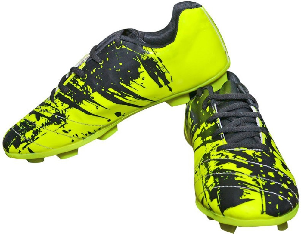 Parbat Fighter Green Football Shoes