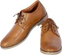 Shoebook Shoebook Casual Derby Tan Lace Up Party Wear