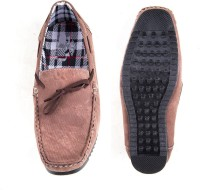 Bhavya's Dark Brown Boat Shoes