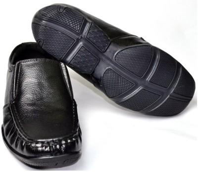 Senso Vegetarian Mens Black Comfort Formal Slip On Shoes