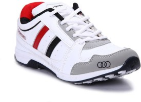 Apoxy APX-1009-WHITE-BLACK-RED Running Shoes
