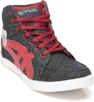 Goalgo Goalgo Trendy Casual Shoes Casuals Black, Grey, Red, White