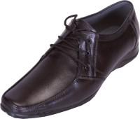 Shoebook Black Leather Formal Lace Up Shoes