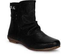 Tic Tac Toe Boots Black, Black