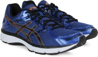 Asics Running Shoes Black, Blue, Orange