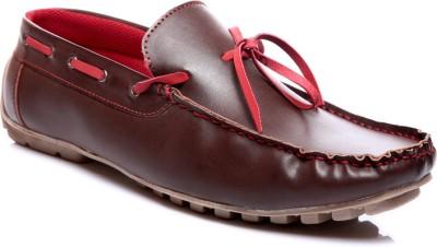 Juandavid 0056-Brown Boat Shoes