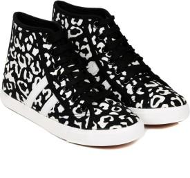 TEN Black Fabric Shoes