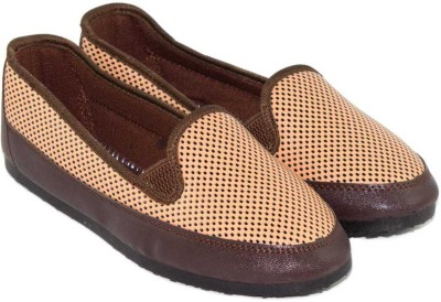 Globalite Globalite Madam Brown Dot Casual Shoes