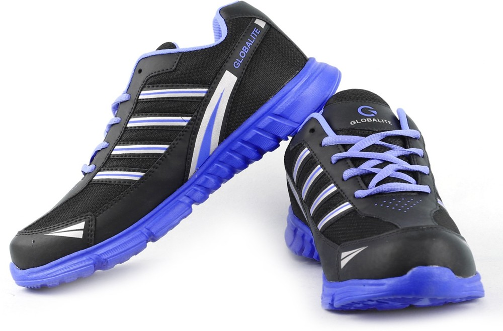 Globalite DAAN BlackBlue Running Shoes