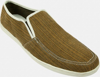 Inkfruit Brown Canvas Slip On @ 499 – mrp 999