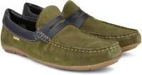 U.S. Polo Assn. Loafers Green, Navy
