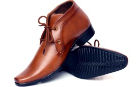 Buenos Original Tan Lace Up Shoes