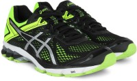 Asics Running Shoes Black, Silver, Yellow