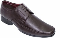 Alleviater Brown Lace Up Shoes