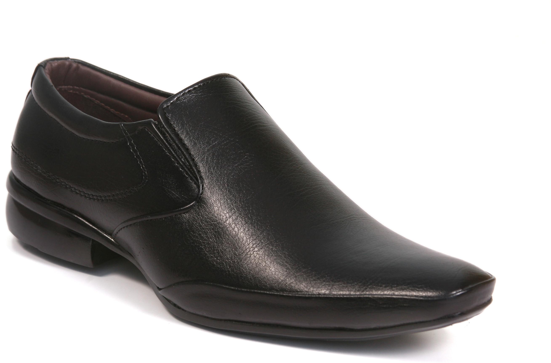 ferraiolo formal slip on shoes buy black coloured formal