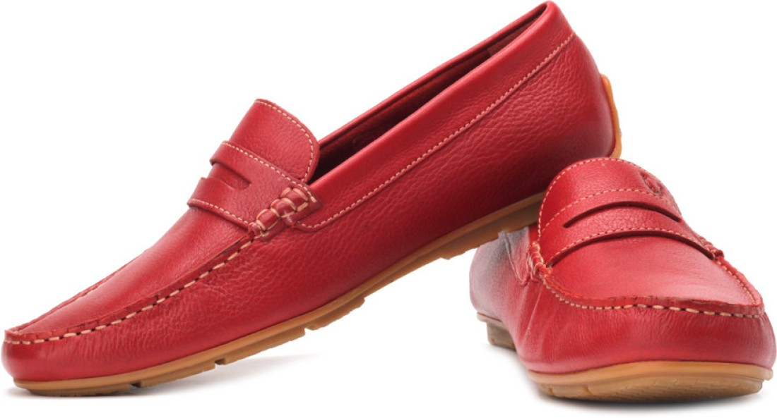 Allen Solly Loafers - Buy Red Color Allen Solly Loafers ...