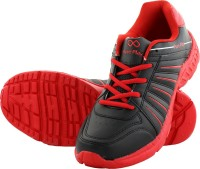 Pure Play Black Red Pure Transition Running Shoes
