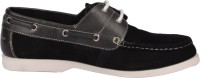 Pinellii Corvus Lace Up Black/Grey Casual Shoes
