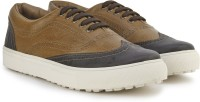 Knotty Derby Alecto Wing Cap Brogue Sneaker Brown