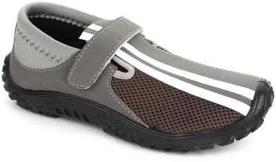Gliders Newclark-Grey Walking Shoes