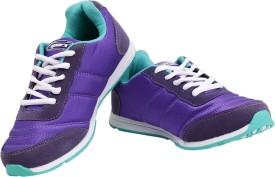 Sparx Stylish Purple & Green Running Shoes