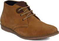 Kielz Brown Men's Lace Ups Corporate Casual Shoes