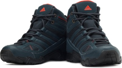 adidas Xaphan Mid Hiking Shoes - Buy DK Shale, Hi Res Red Color