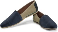 Funk Mish Blue And Brown Casual Shoes
